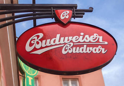 Photograph - Czech Budvar by Shirley Radabaugh