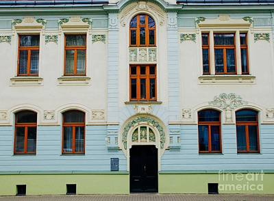 Photograph - Czech Facades by Louise Fahy