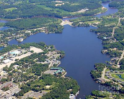 Photograph - D-005 Delton Lake Wisconsin Dells Full by Bill Lang