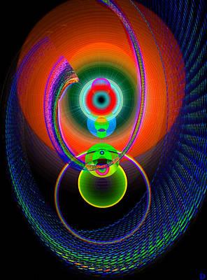 Digital Art - Eye Of Mars by David Lee Thompson