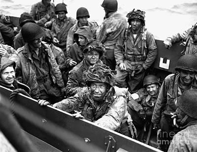 D Day Normandy Landing Art Print