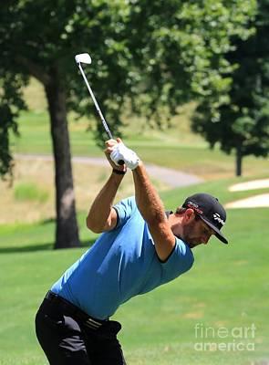Pga Golfer Dustin Johnson Art Print