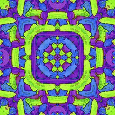 Digital Art - D E C -month- -pattern- by Coded Images