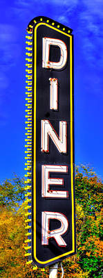 Photograph - D I N E R  - ' Dis Is Not Elegant Repast, But It Do The Belly Much Nice - Lincoln Highway, Lancaster by Michael Mazaika
