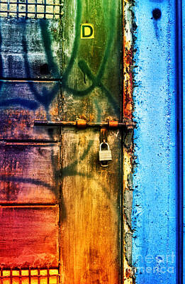 Photograph - D Is For Door by Tara Turner