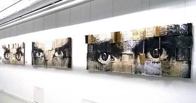 Installation Mixed Media - D. by Katarzyna Puchala
