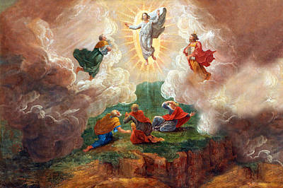 Painting - D. Nollet The Transfiguration by Munir Alawi