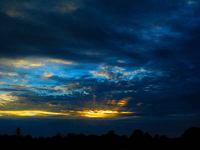 Photograph - D Sunset by Mark Blauhoefer