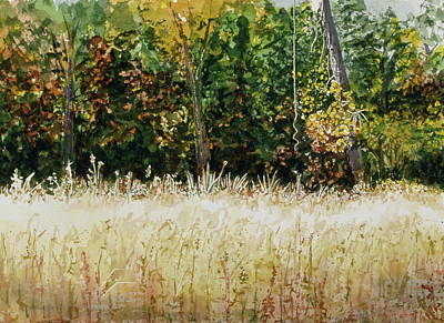 Art Print featuring the painting D Vine by Lynn Babineau