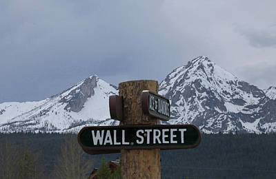Photograph - D07338 Sawtooth Range From Wall Street by Ed Cooper Photography