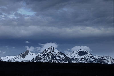 Photograph - D07340 Storm Over Sawtooths by Ed Cooper Photography