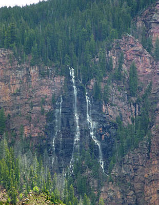 Photograph - D10482-dc-e Waterfall by Ed  Cooper Photography