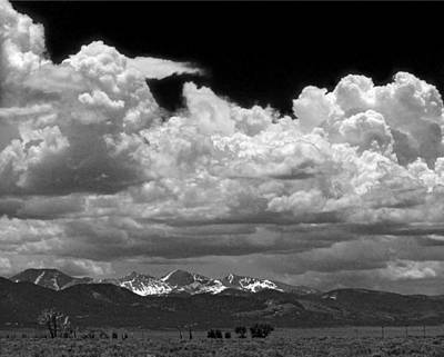 Photograph - D10944-bw Clouds Over The Culebra Range by Ed Cooper Photography