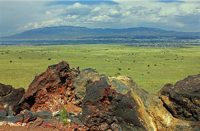 Photograph - D14577 View From Top Of Ja Volcano by Ed Cooper Photography