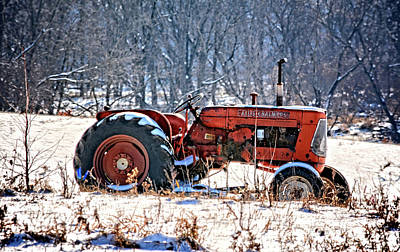 Photograph - D15 Allis Chalmers by Bonfire Photography
