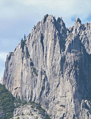Photograph - D2m6102 Sheer Wall Castle Crags State Park by Ed Cooper Photography