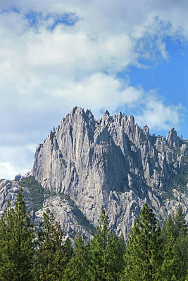 Photograph - D2m6104 Castle Crags State Park 3 by Ed Cooper Photography