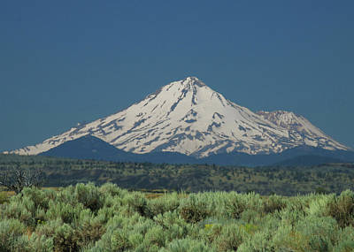 Photograph - D3a6611 Mt. Shasta by Ed Cooper Photography