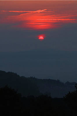 Photograph - D7b6397 Sunrise On Last Day Of Winre Country Fires V by Ed Cooper Photography