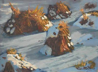Painting - Da Clumps by Len Stomski
