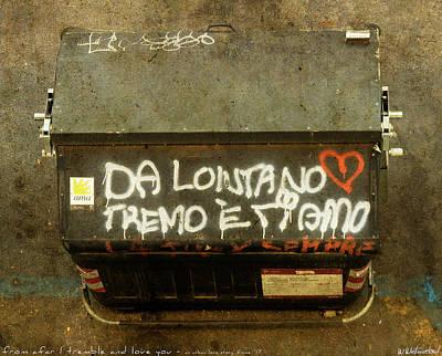 Photograph - Da Lontano by Weston Westmoreland