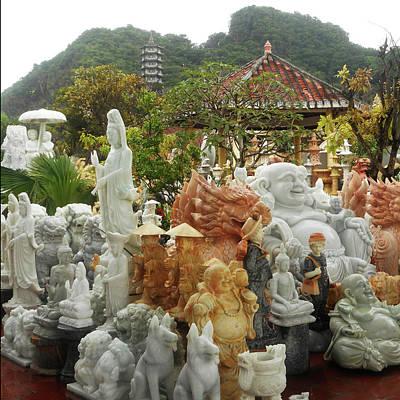 Photograph - Da Nang Statues 15 by Ron Kandt
