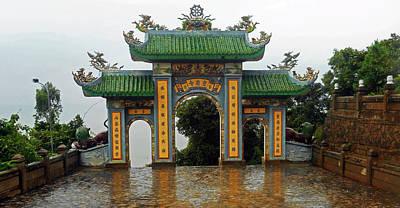 Photograph - Da Nang Temples 8 by Ron Kandt