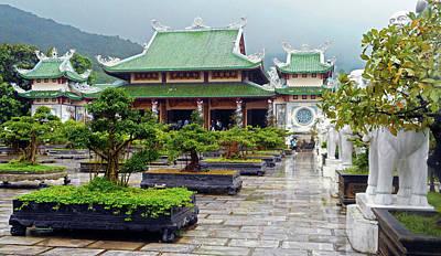 Photograph - Da Nang Temples 9 by Ron Kandt