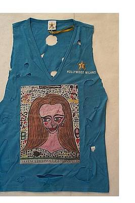 What Is Life Mixed Media - Da Vinci Bernoulli Monna Lisa Hollywood-milano Special Singlet by Francesco Martin