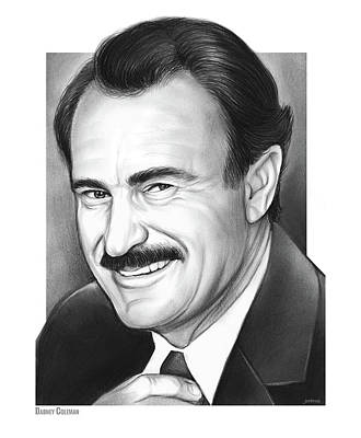 Drawing - Dabney Coleman by Greg Joens