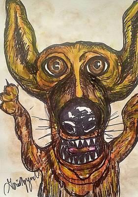 Dachshund Art Drawing - Dachshund by Geraldine Myszenski