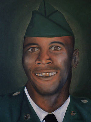 Painting - Dad by Angelo Thomas