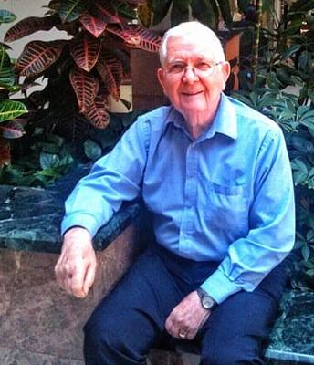 Photograph - Dad At 90 by Patricia Greer