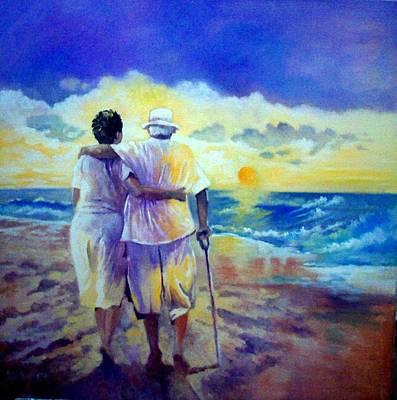 Painting - DAD by Paul Weerasekera