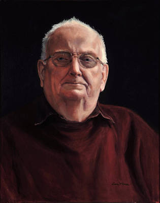Painting - Dad by Sister Laura McGowan
