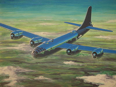 B17 Drawing - Daddy's Little Angel by Dave Herrling