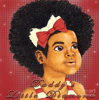 Daddy's Little Girl - Kappa Alpha Psi Art Print