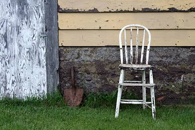 High Chairs Photograph - Dads High Chair by Lauri Novak