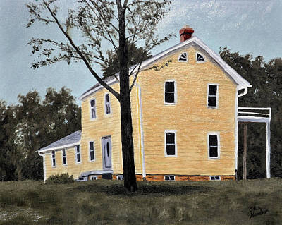Painting - Dads House by Stan Hamilton