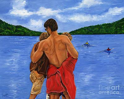 Painting - Dad's Love by Sweta Prasad