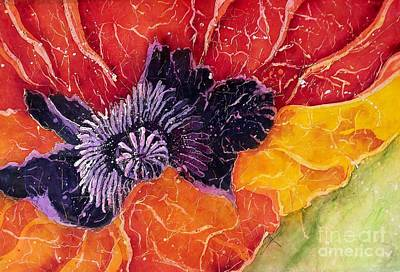 Mixed Media - Dad's Poppy by Carol Losinski Naylor