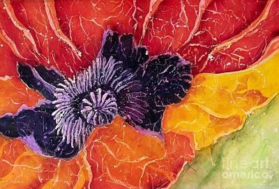 Mixed Media - Dad's Poppy by Carol Losinski Naylor