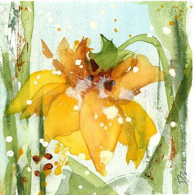 Painting - Daffodil by Dawn Derman