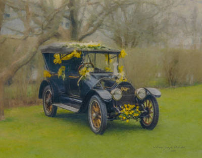 Daffodil Day Winner Nantucket  Art Print