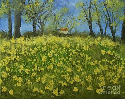 Painting - Daffodil Dreams by Barrie Stark