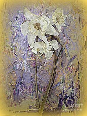 Digital Art - Daffodil Memories by Nancy Kane Chapman