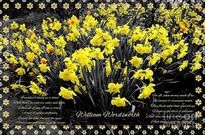 Photograph - Daffodils 3 by Joan-Violet Stretch