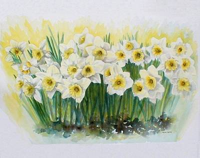 Painting - Daffodils by Anita Carden