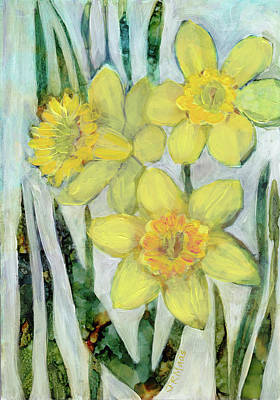 Painting - Daffodils by Julie Maas