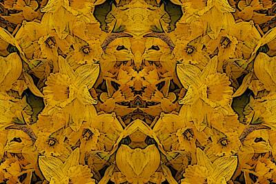 Daffodils Digital Art - Daffy Daffodils by Tim Allen